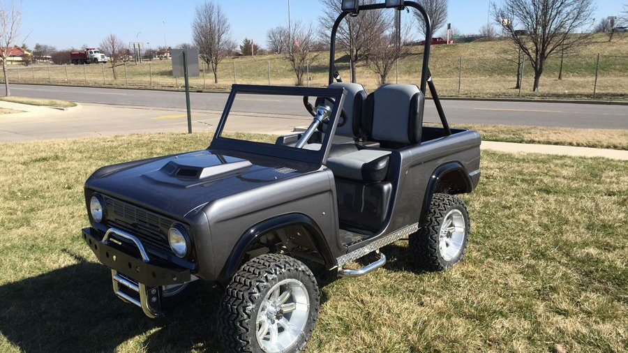 Custom Ford Bronco Off Roader Golf Car