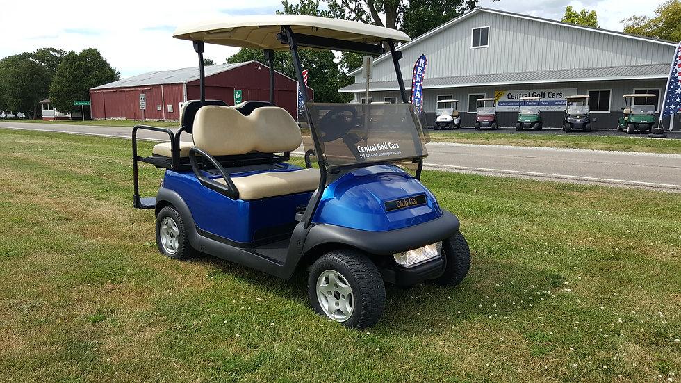 2012 Club Car Precedent 48V Golf Cart:Blue Metallic