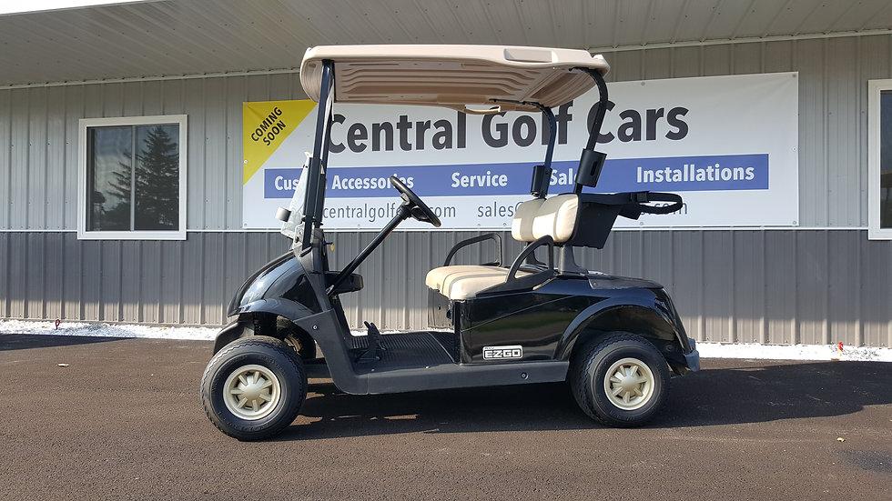 2014 EZ Go RXV 48V Golf Cart: Black SOLD SOLD SOLD