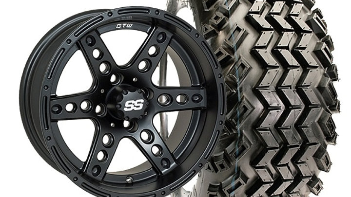 """14"""" Domintor Wheels On A/T Tires (Lift Required) Set of 4"""