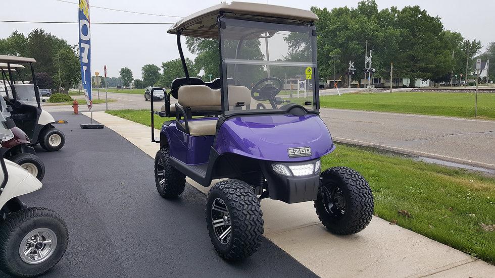 2011 EZ Go RXV 48V Street Legal Lifted Golf Car