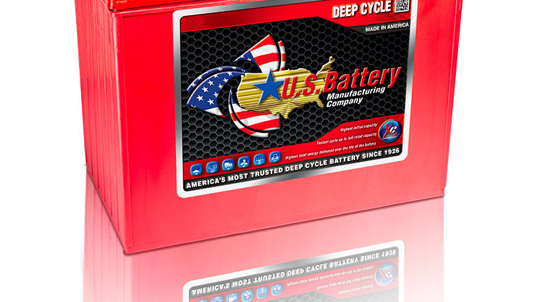US Battery US12VXC 12V Golf Cart Battery (with Core)