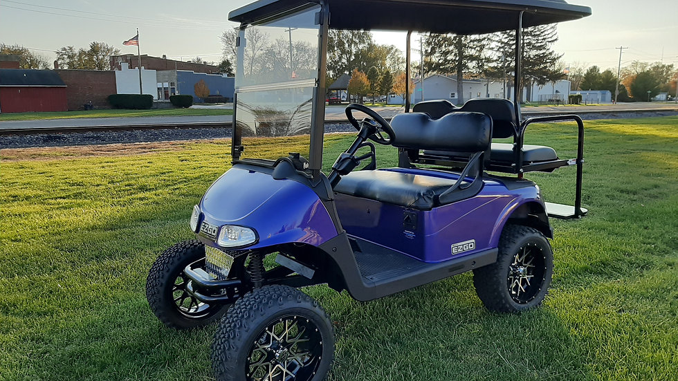 2014 EZ Go RXV 48V Lifted Street Legal Golf Cart