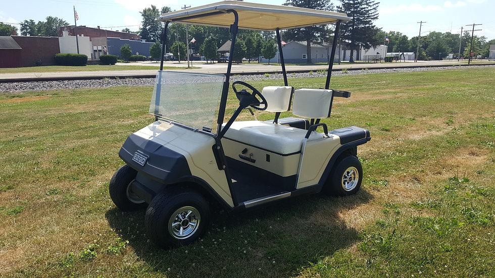 1989 EZ Go Electric Golf Cart: Beige