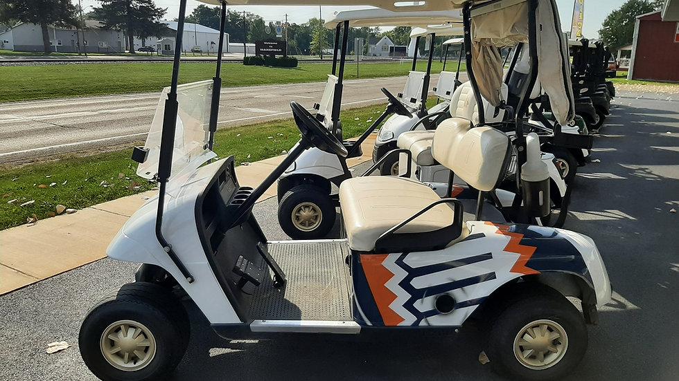 2008 EZ Go TXT 48V Illini Custom Body Golfer