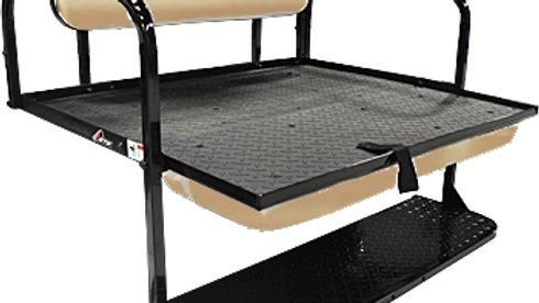 GTW Steel Rear Flip Seat for Club Car Precedent - Beige
