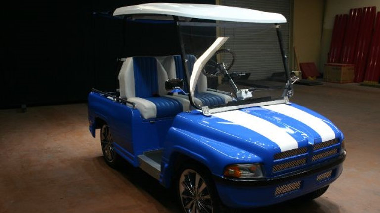 Dodge Ram Pickup Street Truck Golf Cart
