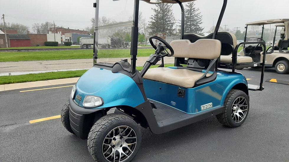 2017 Custom EZ Go RXV 48V Street Legal 4 Seater