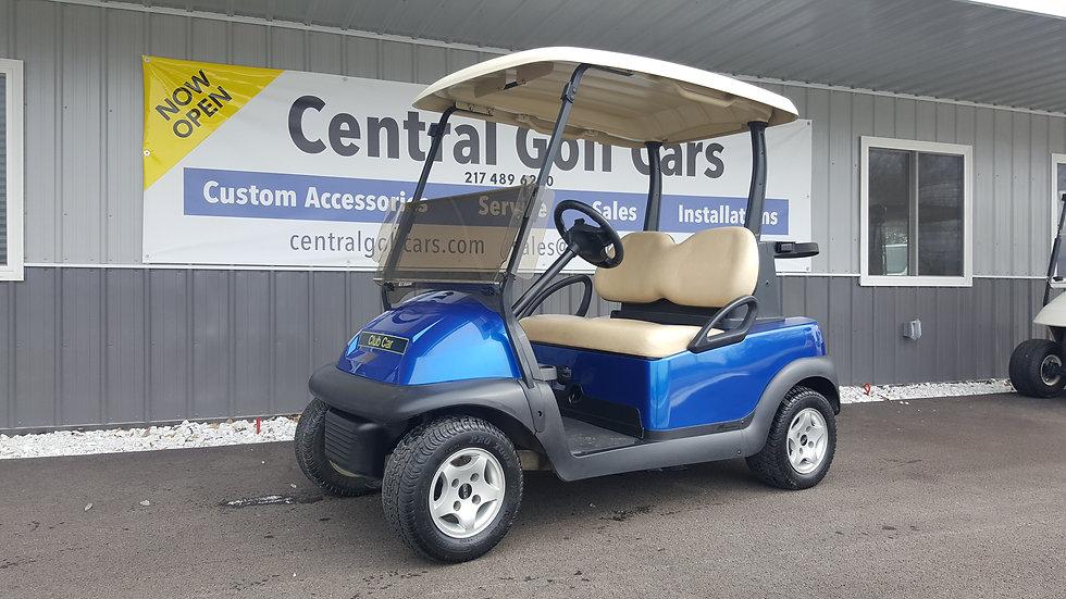 2012 Club Car Precedent 48V Golf Cart:Blue