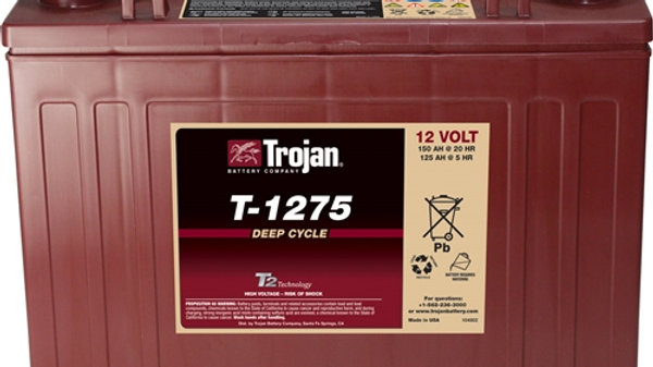 Trojan T-1275 12V Golf Cart Battery (with Core)