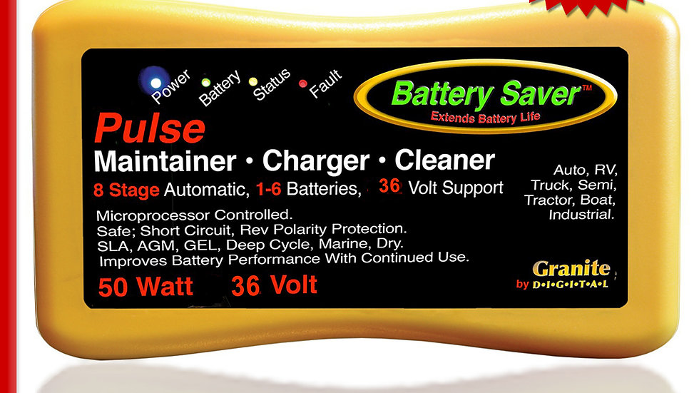 Battery Saver Battery Maintainer, 36V