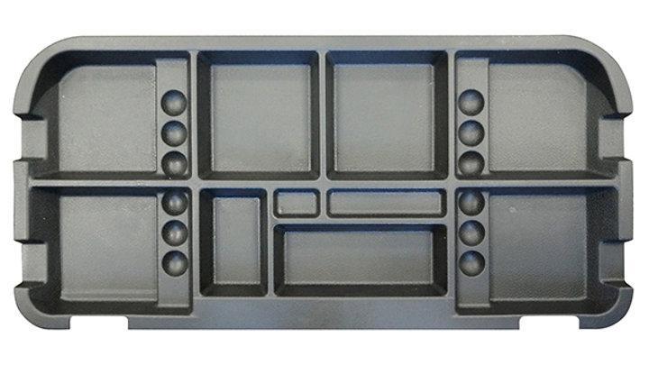 Under Seat Storage Tray, Black: EZ Go 94+ Electric