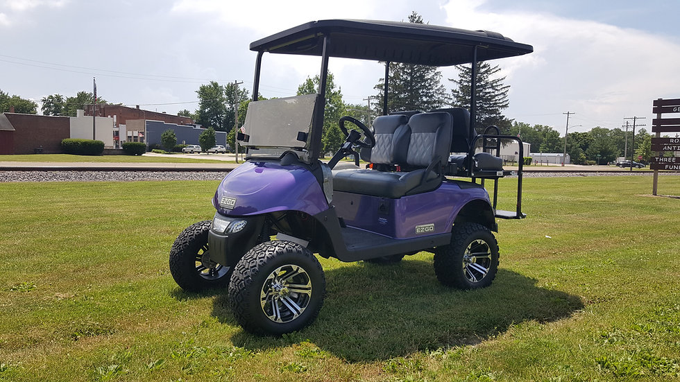 2013 EZ Go RXV 48V Lifted Street Legal Golf Cart