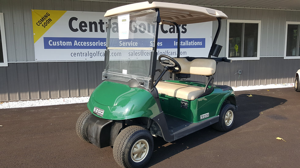 2013 EZ Go RXV 48V Golf Cart: Green