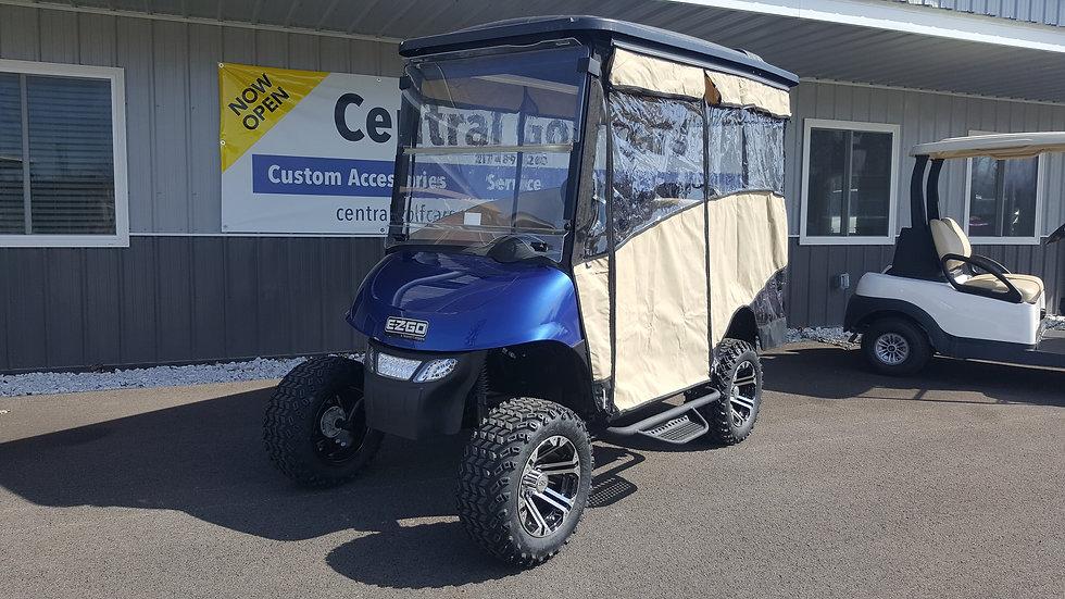 2014 EZ Go RXV 48V Street Legal Golf Cart w/ Enclosure