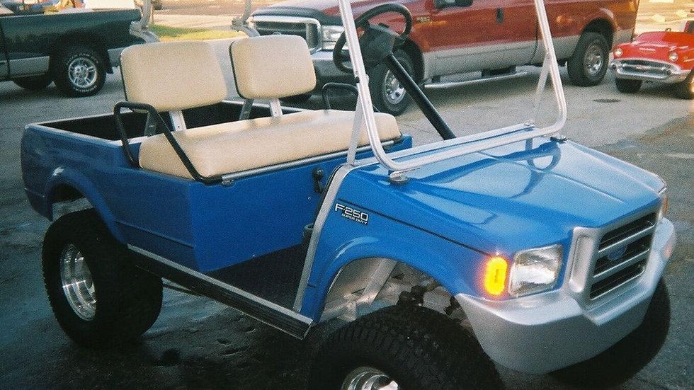 Ford F250 Monster Truck Golf Cart
