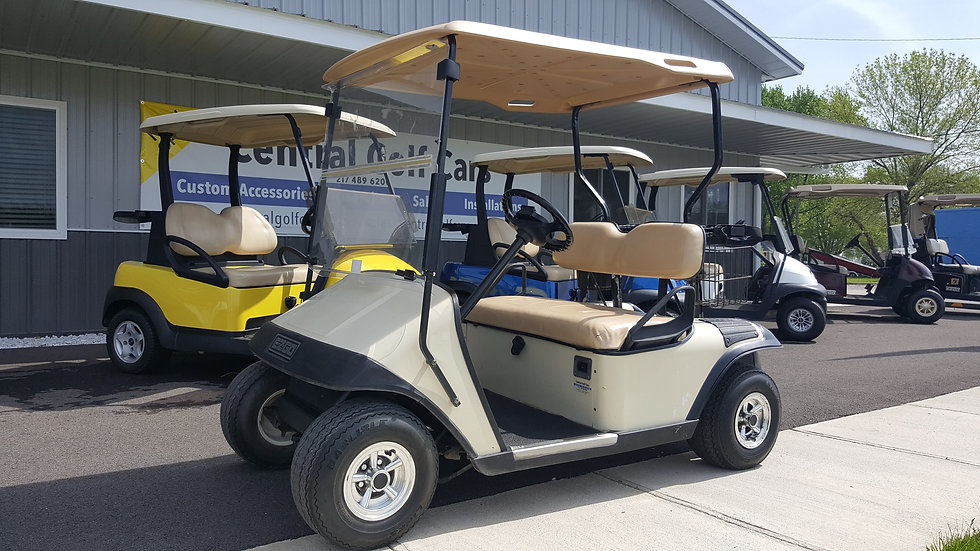 1994 EZ Go Electric Golf Cart: Beige