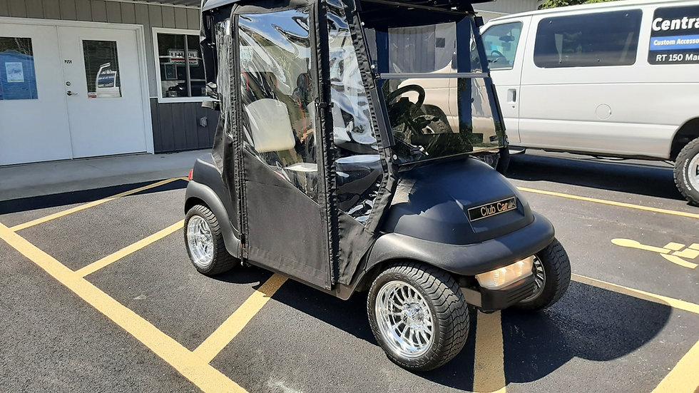 2009 Club Car Precedent 48V Golfer with Custom Enclosure