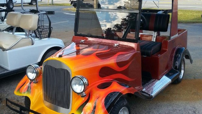 1922 Nash Roadster Hot Rod Cart