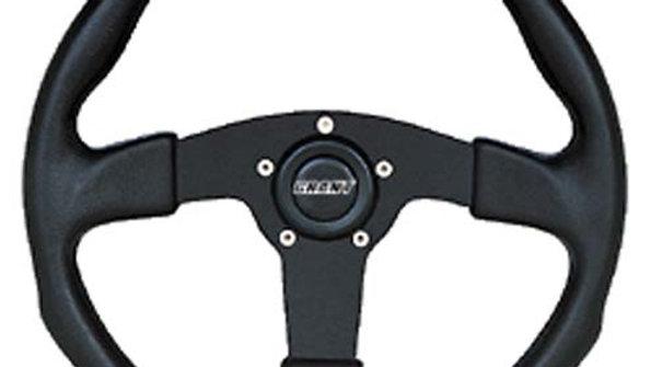 Steering Wheel, GT Black Grip/Spoke