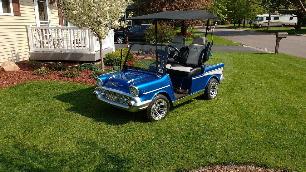Custom 1957 Chevy Street Rod Cart