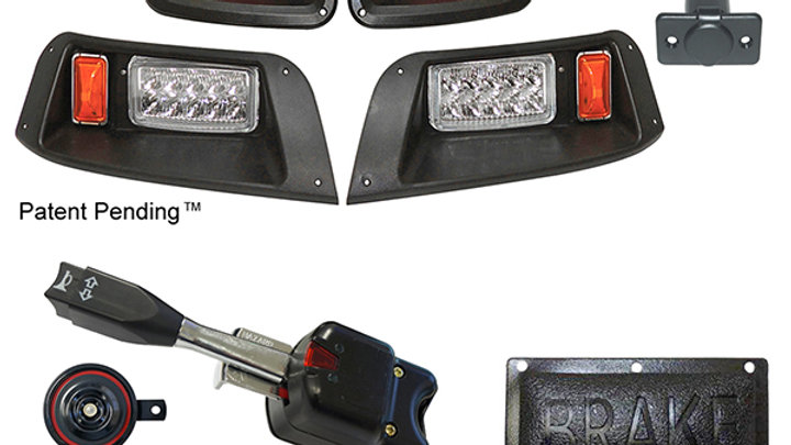 LED Adjustable Light Kit, E-Z-Go TXT 96-13 (Standard, Pedal Mount)