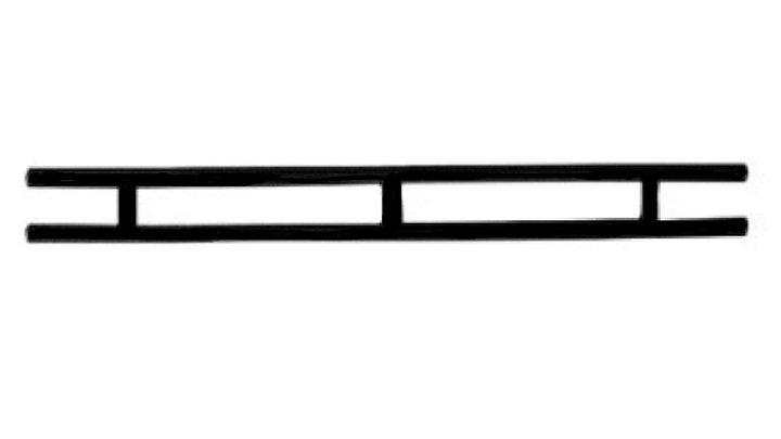 Rear Bumper, Black CC 81+