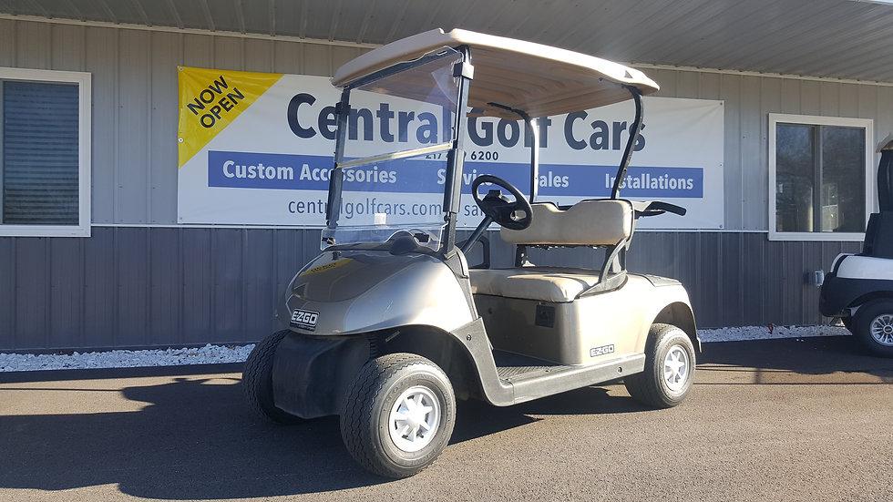 2013 EZ Go RXV 48V Golf Cart: Almond Metallic
