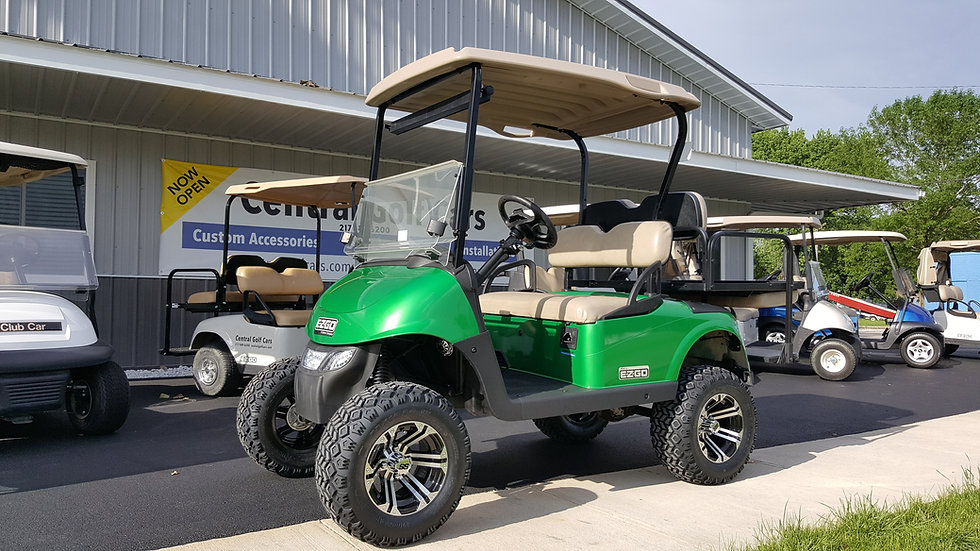 2013 EZ Go RXV 48V Street Legal Lifted Golf Car