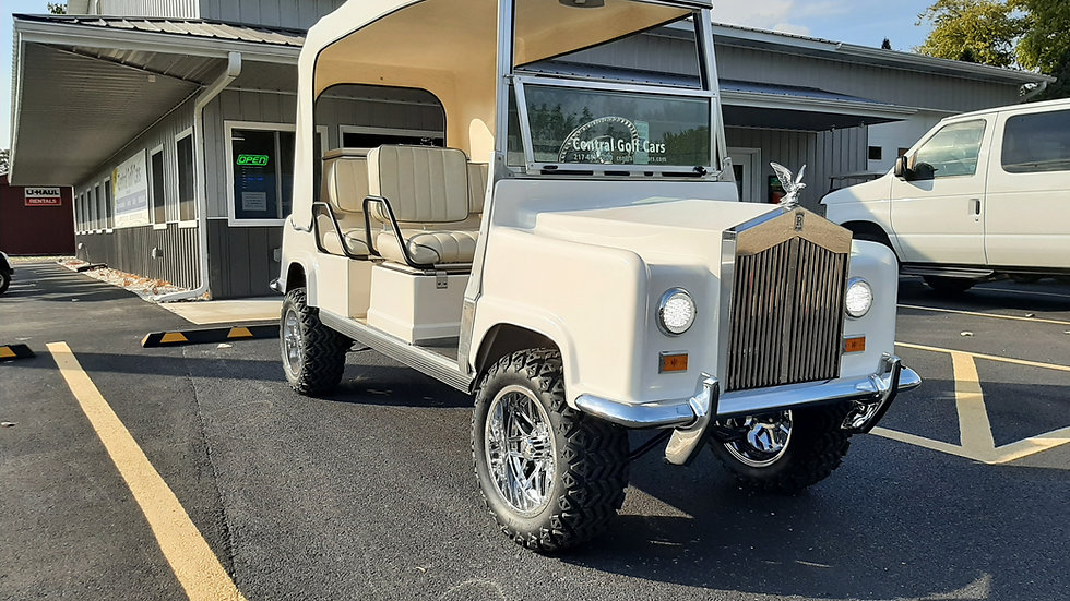 1997 Royal Ride Rolls Royce Resto Mod Limo Lifted