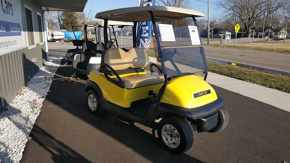 2012 Club Car Precedent 48V Golf Cart: Bright Yellow