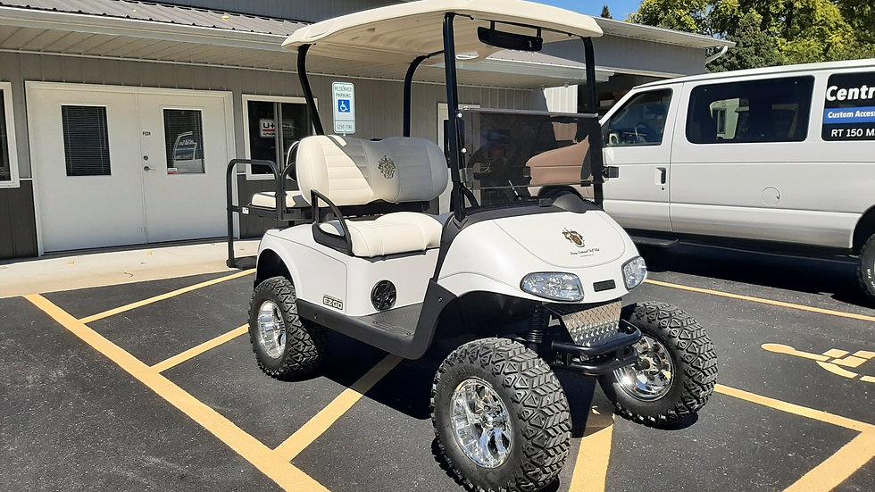 2017 EZ Go RXV Custom Trump Golf Course Cart