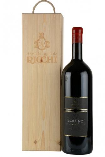 Ricchi Carpino in der Holzkiste Magnum 1,5 L