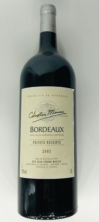 Christian Moueix Bordeaux 2003 Private Reserve