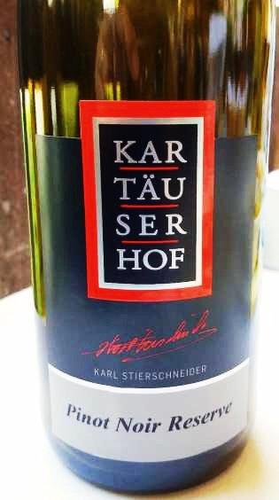 Kartäuserhof Pinot Noir Reserve