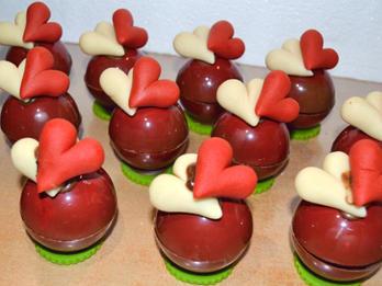 Valentijnbolletjes  € 4.40