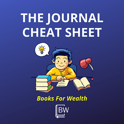 Journal Cheat Sheet
