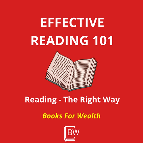 Effective Reading Guide