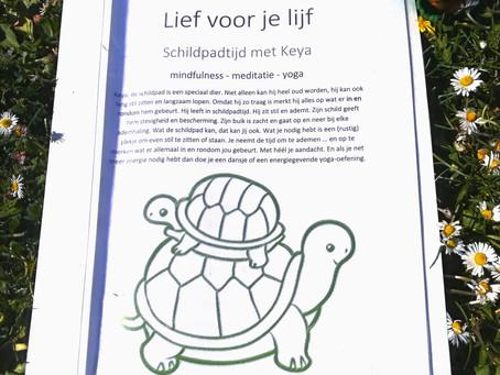 Mindful doemapje en luistermeditaties met Keya de schildpad