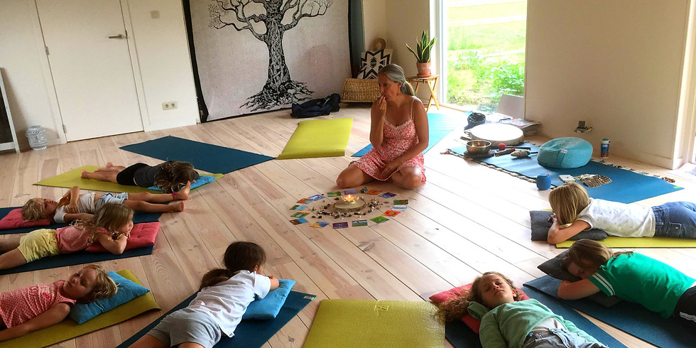 Lief voor je lijf PUTTE - proefles relaxatie en mindfulness voor kinderen