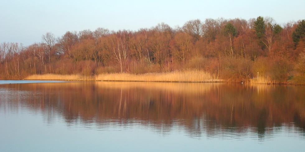 Mindful moment aan het meer
