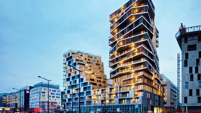 The Masséna | Harmonic Architects and Comte Vollenweider Architects