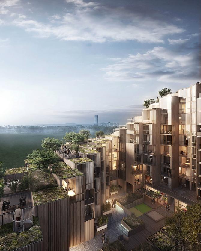 New Residential Design in Stockholm | BIG