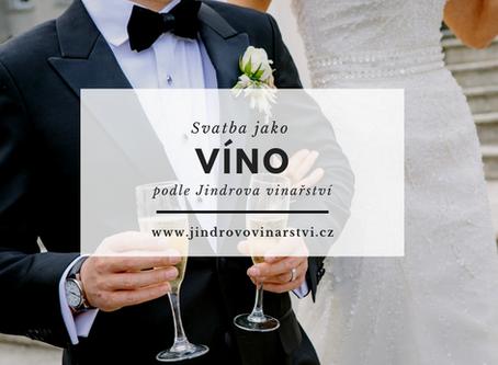 Svatba jako víno