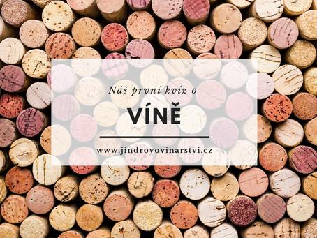 Jindrův kvíz o víně