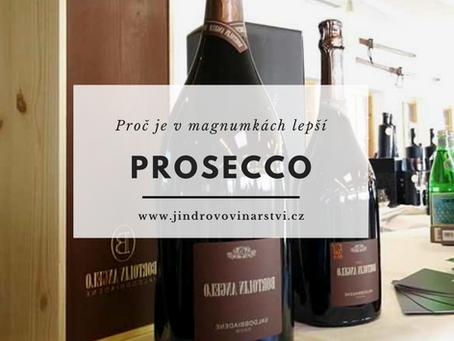 Proč chutná Prosecco lépe z velkých lahví (magnumek)