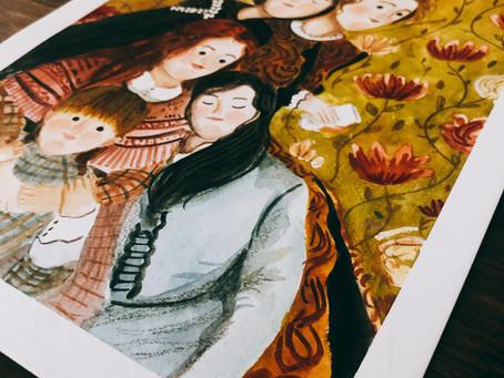 Acuarelas #koiwatercolors Reseña+proceso de pintura