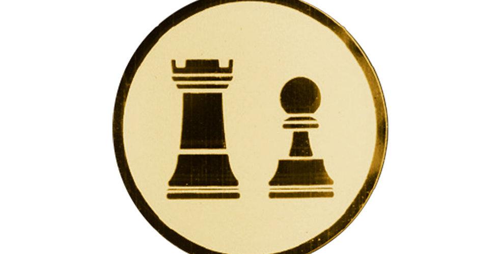 Inserto para trofeo de ajedrez