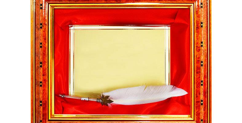 Marcos de lujo, Placas de Reconocimiento