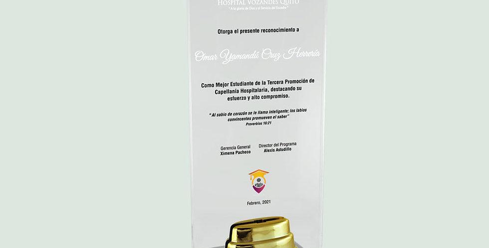 Trofeos en Ibarra